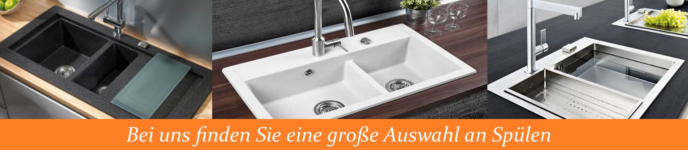 Spüle Spülbecken GRANIT Küche Einbauspüle 70x45 Schwarz Beige Neu Design NEXL